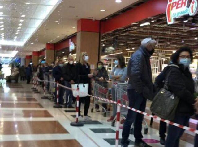 fila-supermercato-bergamo-orio-center
