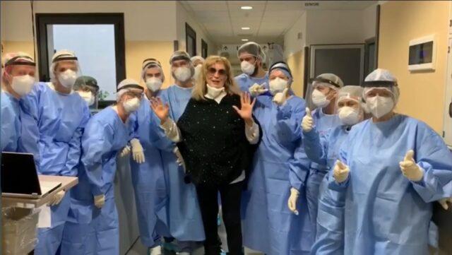 iva-zanicchi-lascia-ospedale-vimercate