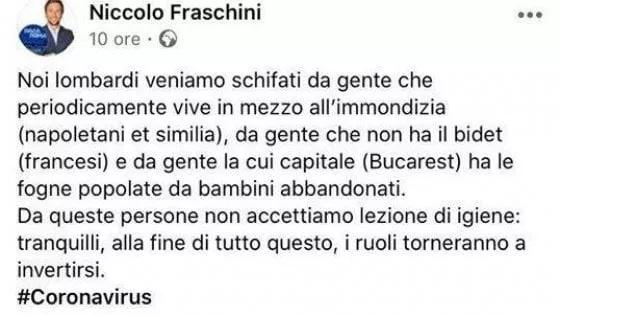 niccolò-fraschini-pavia-frasi-razziste-marzo