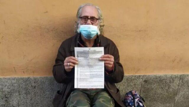 senzatetto-multato-como