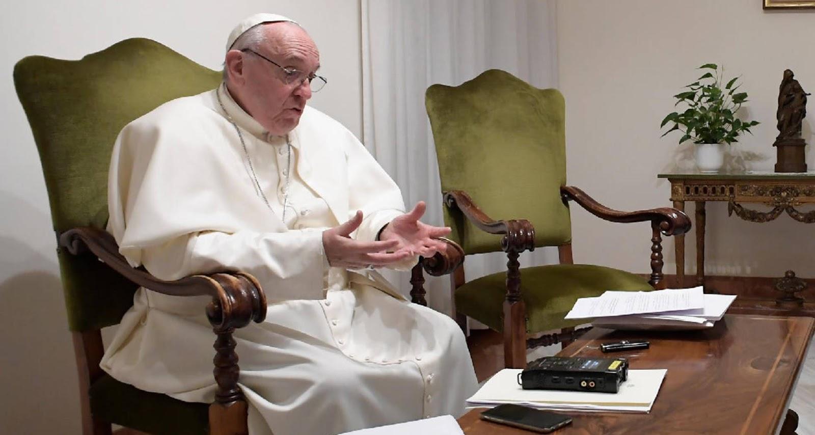 papa-francesco-intervista-oggi-tg5