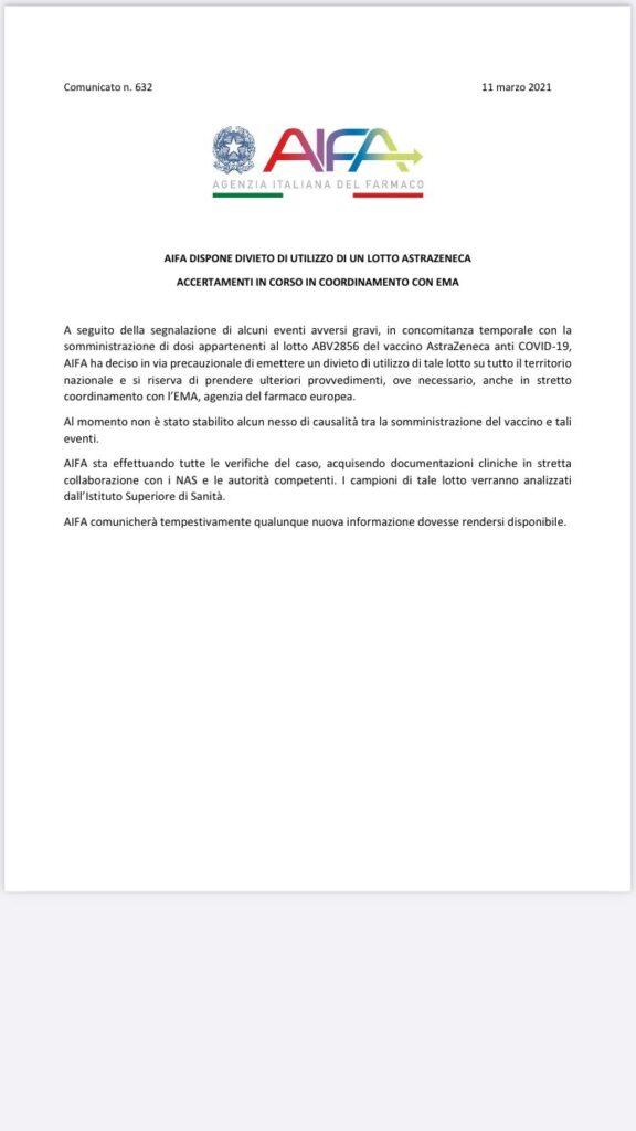 lotto-abv2856-astrazeneca-sospeso-comunicato-ufficiale-aifa